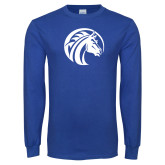 Royal Long Sleeve T Shirt-Bronco