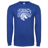 Royal Long Sleeve T Shirt-Lady Broncos
