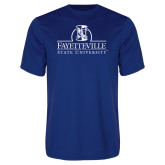 Performance Royal Tee-Fayetteville State University Logo