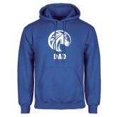 Royal Fleece Hoodie-Dad