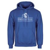 Royal Fleece Hoodie-Fayetteville State University Logo