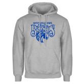 Grey Fleece Hoodie-Lady Broncos