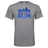 Grey T Shirt-Our City Our Team