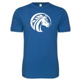 Next Level SoftStyle Royal T Shirt-Bronco