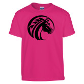Youth Cyber Pink T Shirt-Bronco Foil