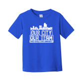 Toddler Royal T Shirt-Our City Our Team