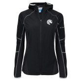 Columbia Ladies Sweet As Black Hooded Jacket-Bronco