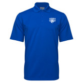 Royal Mini Stripe Polo-Official Logo