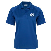 Ladies Royal Textured Saddle Shoulder Polo-Bronco