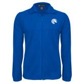 Fleece Full Zip Royal Jacket-Bronco