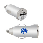 On the Go Silver Car Charger-Bronco