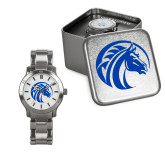Ladies Stainless Steel Fashion Watch-Bronco
