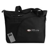 Excel Black Sport Utility Tote-Faith Eagles