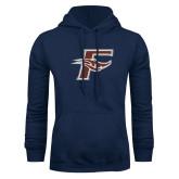 Navy Fleece Hoodie-F
