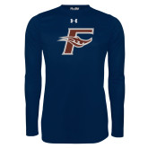 Under Armour Navy Long Sleeve Tech Tee-F