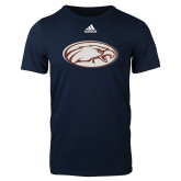 Adidas Navy Logo T Shirt-Eagle