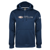 Under Armour Navy Performance Sweats Team Hoodie-Faith Eagles