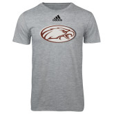 Adidas Sport Grey Logo T Shirt-Eagle
