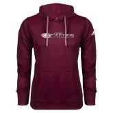 Adidas Climawarm Maroon Team Issue Hoodie-Faith Eagles