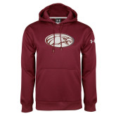 Under Armour Maroon Performance Sweats Team Hoodie-Eagle