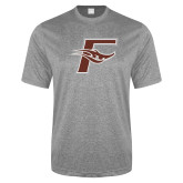 Performance Grey Heather Contender Tee-F