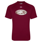 Under Armour Maroon Tech Tee-Eagle