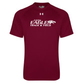 Under Armour Maroon Tech Tee-Track & Field