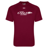 Under Armour Maroon Tech Tee-Alumni