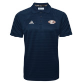 Adidas Climalite Navy Jacquard Select Polo-Eagle