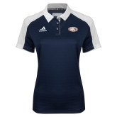 Ladies Adidas Modern Navy Varsity Polo-Eagle