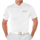 Callaway Opti Vent White Polo-Faith Eagles