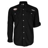 Columbia Bahama II Black Long Sleeve Shirt-Eagle