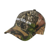 Mossy Oak Camo Structured Cap-Faith Eagles