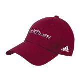 Adidas Maroon Structured Adjustable Hat-Faith Eagles