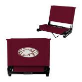 Stadium Chair Maroon-Eagle