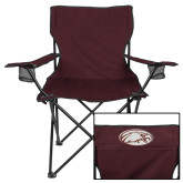 Deluxe Maroon Captains Chair-Eagle