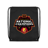 Black Drawstring Backpack-2018 NCAA Mens Basketball National Champions