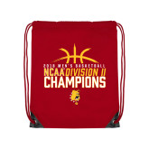 Red Drawstring Backpack-2018 NCAA Mens Basketball National Champions - Basketball