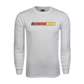 White Long Sleeve T Shirt-#FerrisStrong
