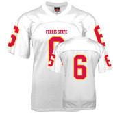 Replica White Adult Football Jersey-#6