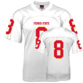 Replica White Adult Football Jersey-#8