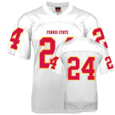 Replica White Adult Football Jersey-#24