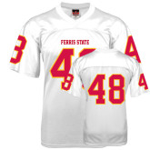 Replica White Adult Football Jersey-#48