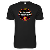 Next Level SoftStyle Black T Shirt-2018 NCAA Mens Basketball National Champions