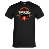 Black T Shirt-2018 NCAA Mens Basketball National Champions