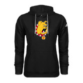 Adidas Climawarm Black Team Issue Hoodie-Bulldog Head