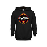 Youth Black Fleece Hoodie-2018 NCAA Mens Basketball National Champions
