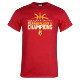 Red T Shirt-2018 NCAA Mens Basketball National Champions - Basketball