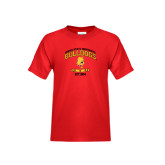 Youth Red T Shirt-Bulldogs Est. 1884 Arched