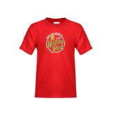 Youth Red T Shirt-Bulldog Pride